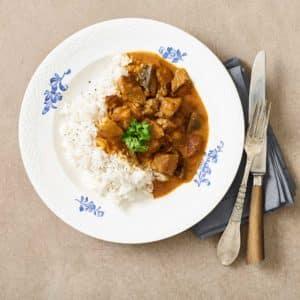 carapulka med ris - leveret til din dør
