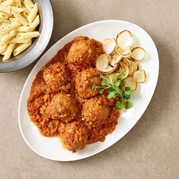 Fad Italienske Kødboller fra måltidskassen